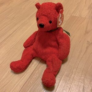 🌻 2/$10 Mistletoe bear beanie baby
